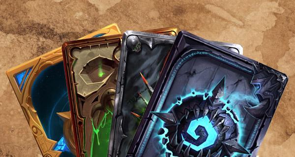des joueurs imaginent des dos de carte pour hearthstone