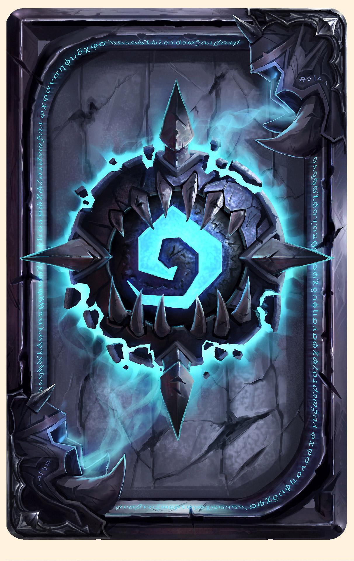 Dos de carte Chevalier de la mort