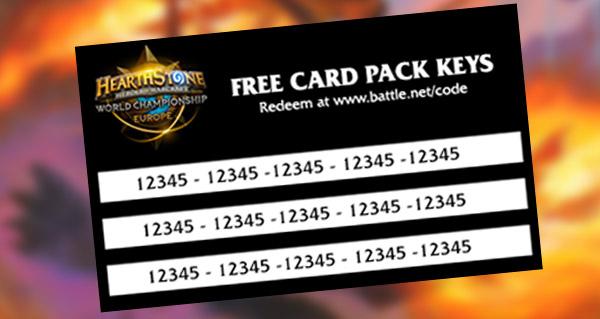 dreamhack offre 9 000 paquets de cartes a ses visiteurs