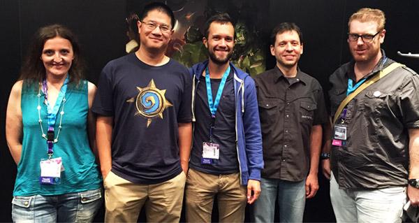 gamescom 2015 : interview avec hamilton chu et mike donais
