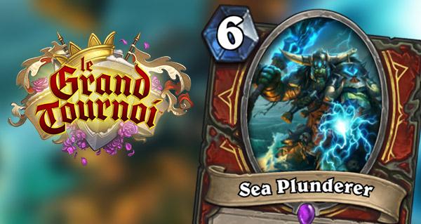 grand tournoi : la carte guerrier sea plunderer