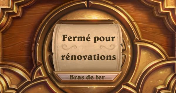 bras de fer : le mode de jeu ferme pour renovations