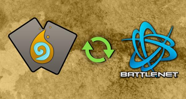 la synchronisation battle.net en place sur hearthstone-decks