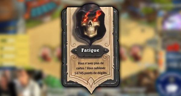 Fatigue Hearthstone