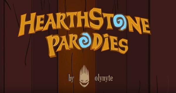 hearthstone parodies : une video cartoon de hearthstone