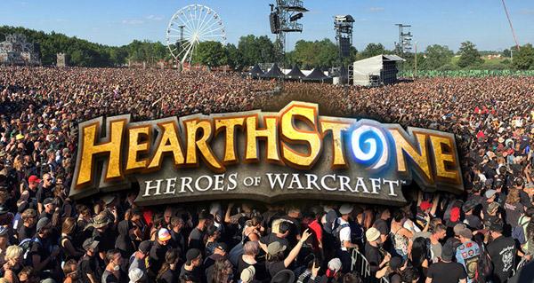 defi inutile : gagner une partie hearthstone dans un concert de rock