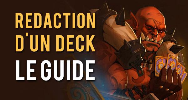 guide : aide a la redaction d'un deck