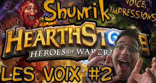 hearthstone - imitations des voix des cartes #2 (par shunrik)