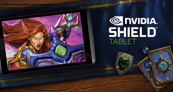 hearthstone : 15 tablettes nvidia shield mises en jeu !
