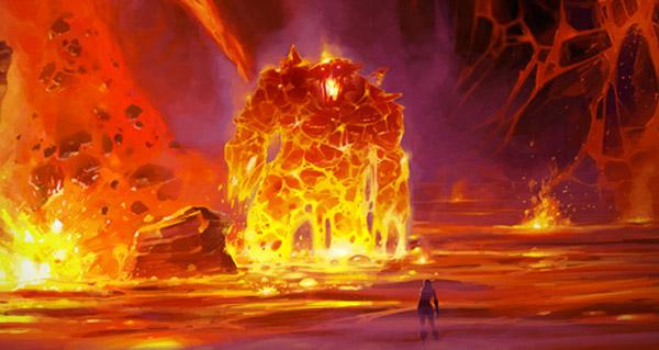 mont rochenoire : deux nouvelles cartes et apercu du coeur du magma
