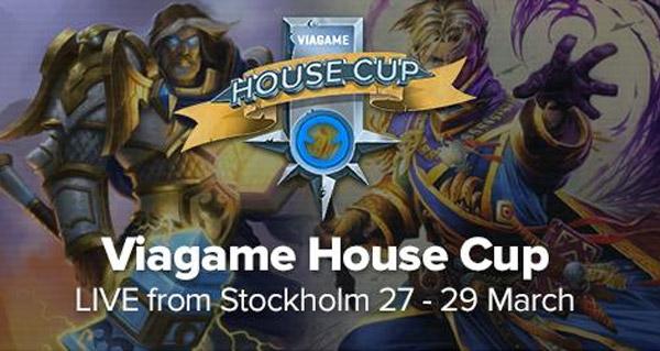 viagame house cup #2 les 27 et 28 mars a stockholm
