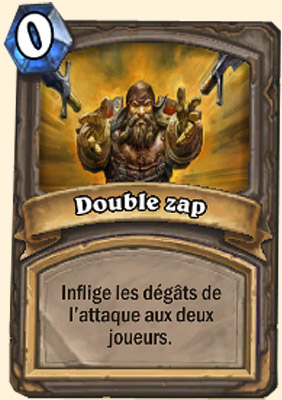 Double zap carte Hearthstone