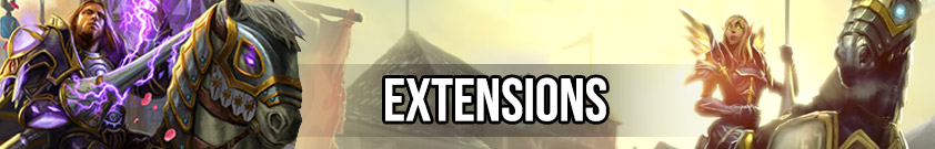 Extensions Hearthstone