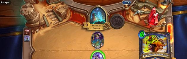 Temple Escape est un des nouveaux boss de Ligue des explorateurs