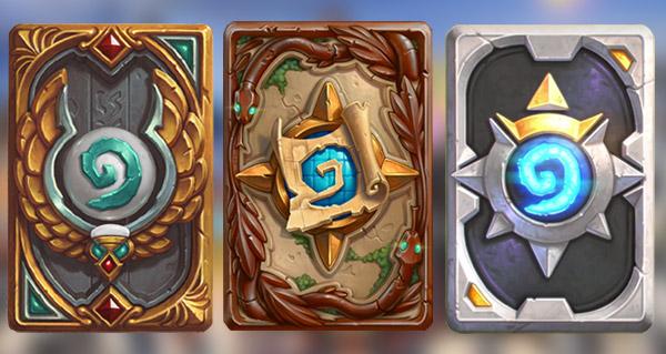 trois nouveaux dos de carte reveles