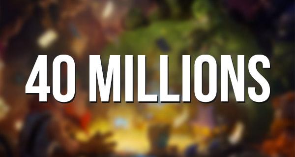 hearthstone : 40 millions de joueurs