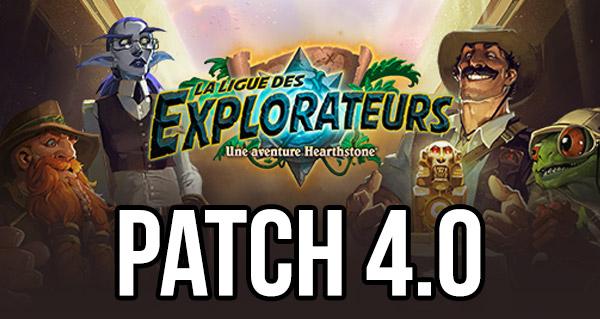 ligue des explorateurs : le patch 4.0 en ligne