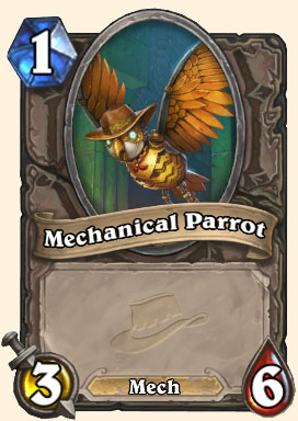 Chariot de mine - Carte Ligue des explorateurs Hearthstone