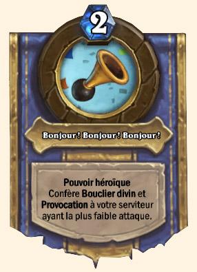 Pouvoir héroïque Ennuy-o-tron Hearthstone