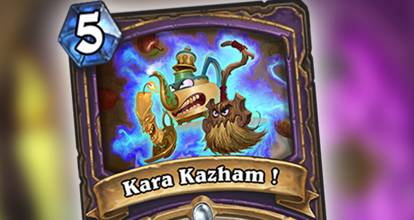 nouvelle carte demoniste : kara kazham