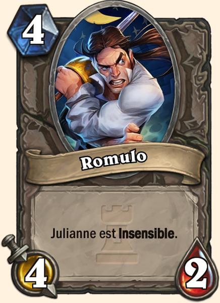 Carte Hearthstone - Romulo - Julianne