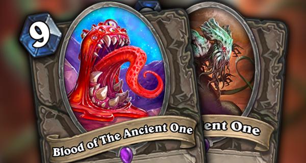 nouvelles cartes : blood of the ancient one et the ancient one
