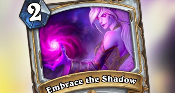 nouvelle carte pretre : embrace the shadows