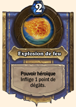 Explosion de feu : le pouvoir héroïque du Mage dans Hearthstone