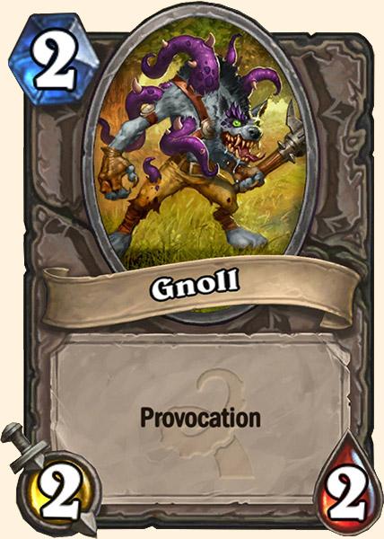 Gnoll carte Hearthstone