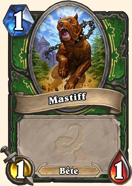 Mastiff carte Hearthstone