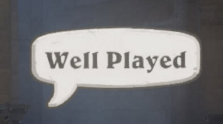 Emote Well played sur Overwatch