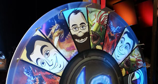 La roue du top deck au festival