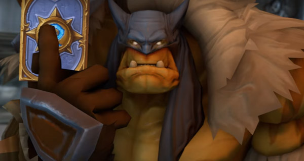 guerrier contre chasseur : une video hearthstone hilarante