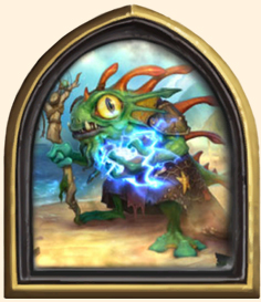 Héros Hearthstone - Morgl l'Oracle