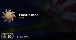 Cette icône indique que vous jouez en Libre : Non classé