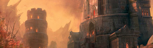 Illustration de Karazhan dans le livre World of Warcraft : Chroniques