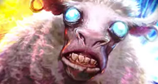 Mouton festif