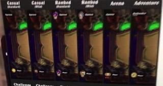 Les différentes icones pour les modes de jeu