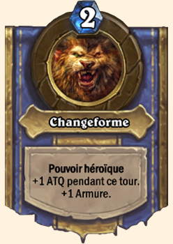 Changeforme : le pouvoir héroïque du Druide dans Hearthstone