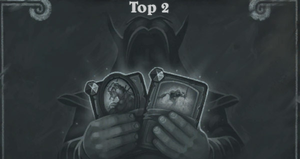 bras de fer : top 2