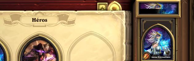 Assignez un héros à un deck spécifique