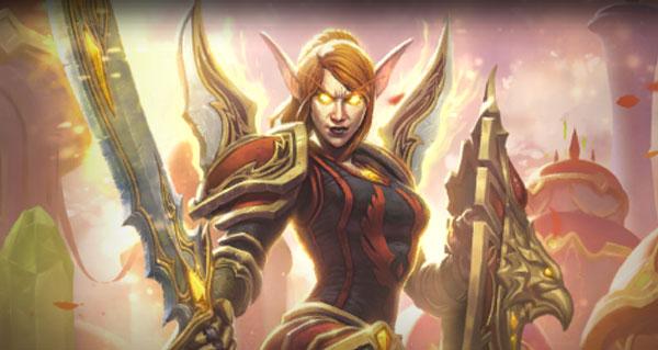 dame liadrin offerte aux joueurs ayant un personnage niveau 20 sur wow
