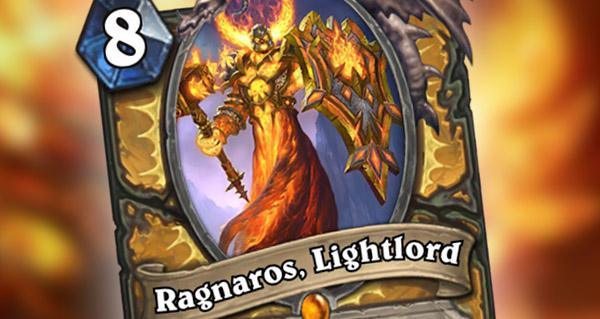 nouvelle carte legendaire paladin : ragnaros, lightlord