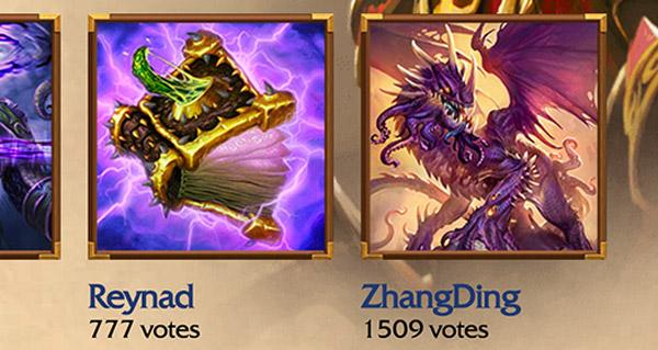 votez pour les 5 prochaines cartes a etre revelees