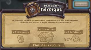 Les règles du Bras de fer héroïque