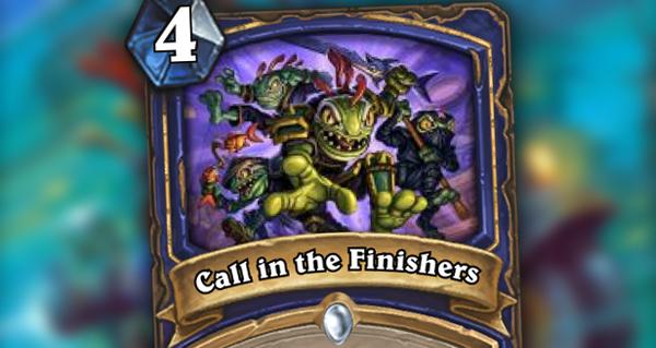 gadgetzan : call in the finishers
