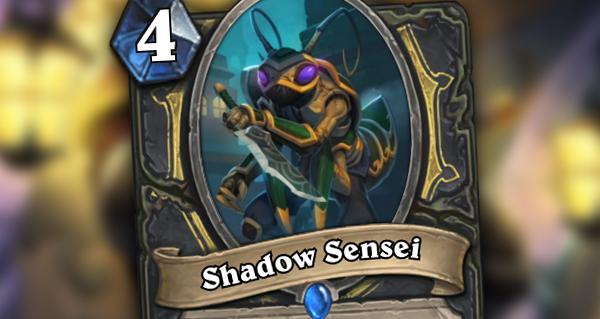 gadgetzan : shadow sensei pour voleur