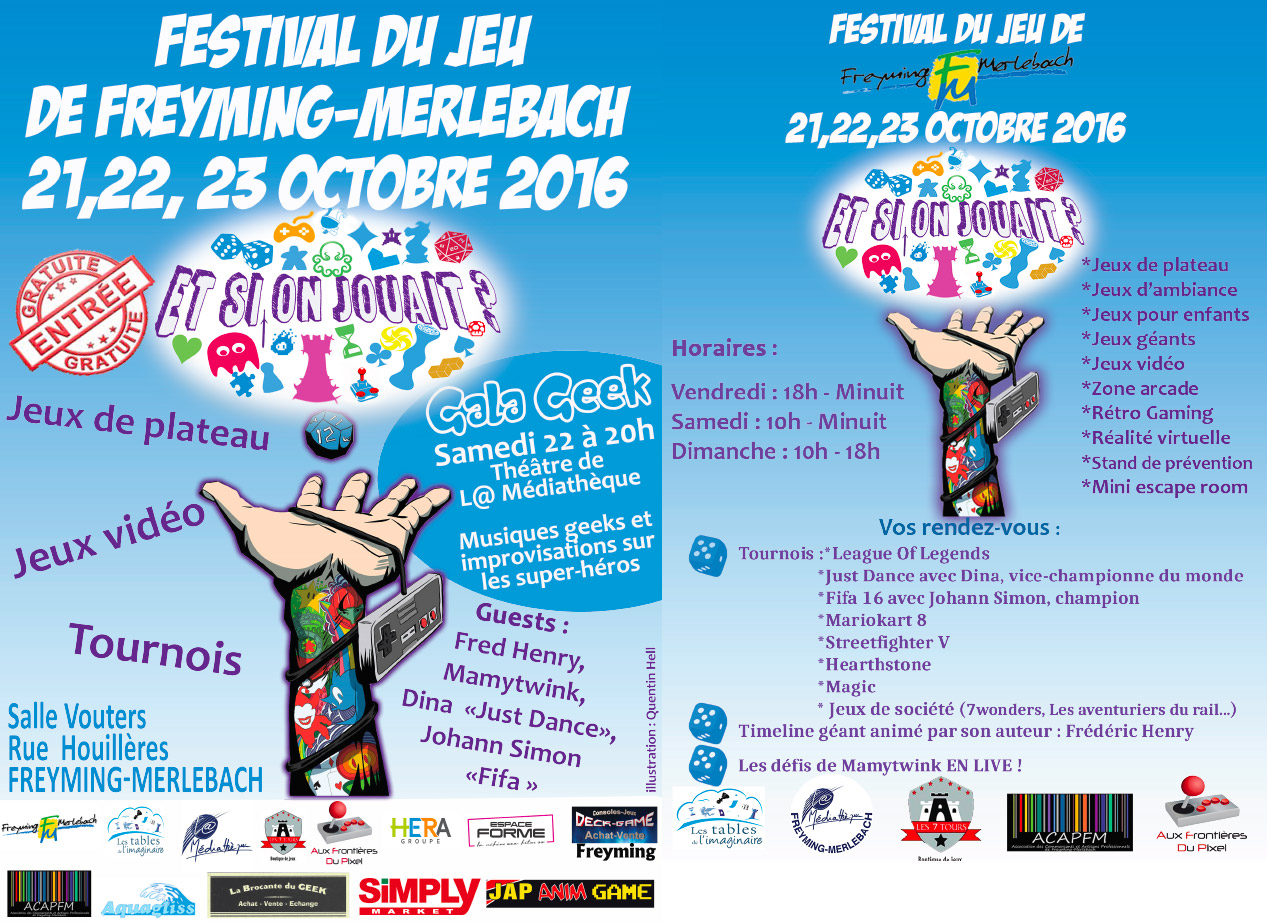 Programme de l'événement à Freyming-Merlebach