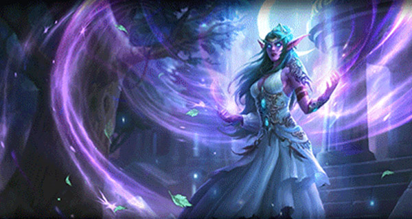 patch hearthstone : nouveau heros tyrande, packs bienvenue, arenes