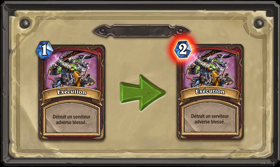Modification carte Hearthstone Exécution